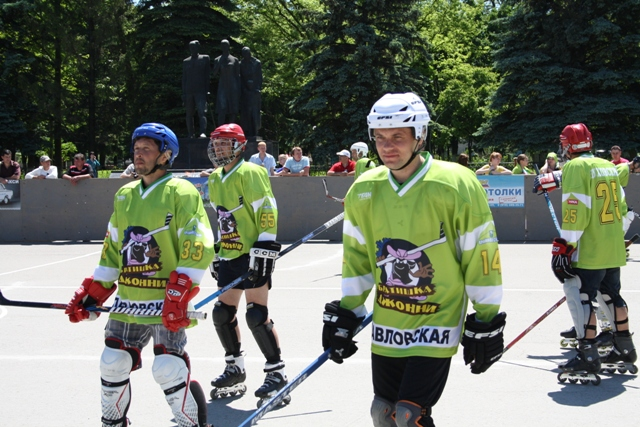 roller hockey in pavlovskaya