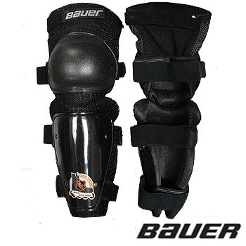 bauer-roller shin-guards
