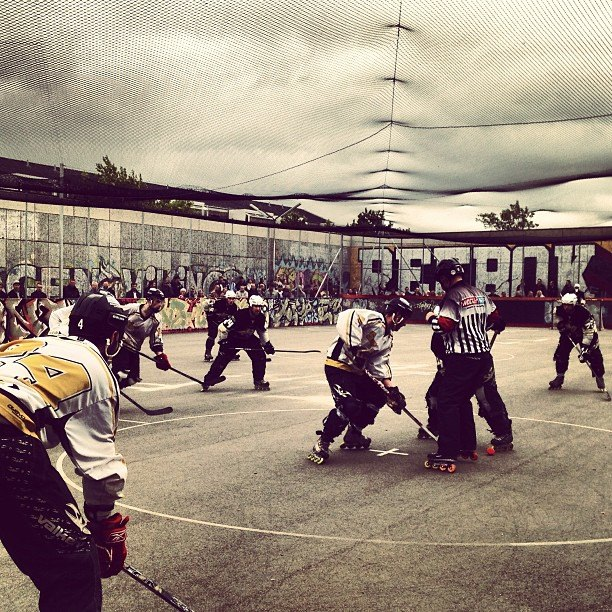 inline hockey in denmark